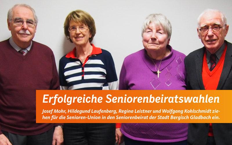 Der neue Seniorenbeirat 2015-2020