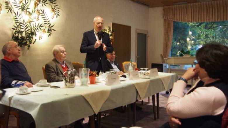 Bundestagsabgeordneter Dr. Tebroke bei der Senioren-Union