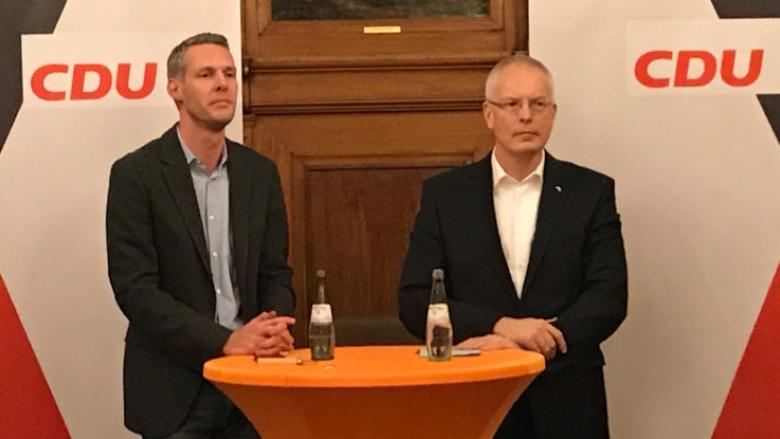 Erste Diskussion mit dem neugewählten Bundestagsabgeordneten