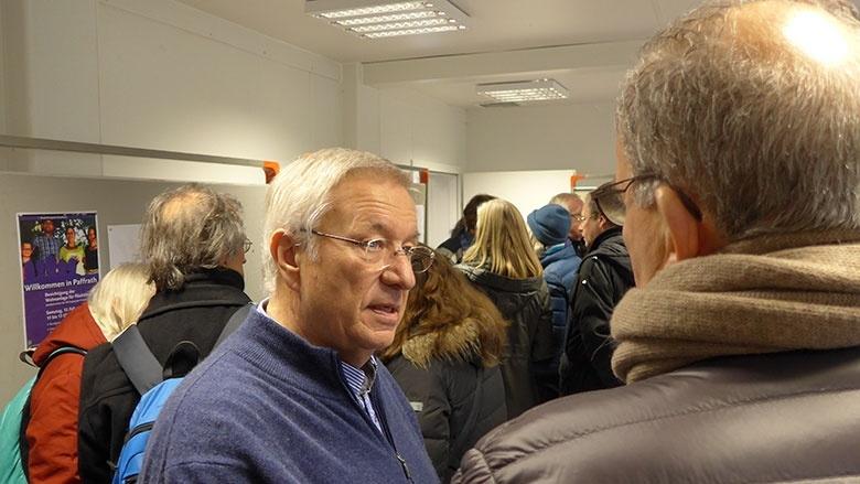 Karlheinz Kockmann hat sich stark für die Flüchtlinge in Paffrath engagiert