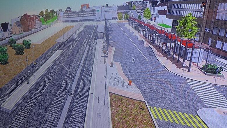 Skizzen Busbahnhof