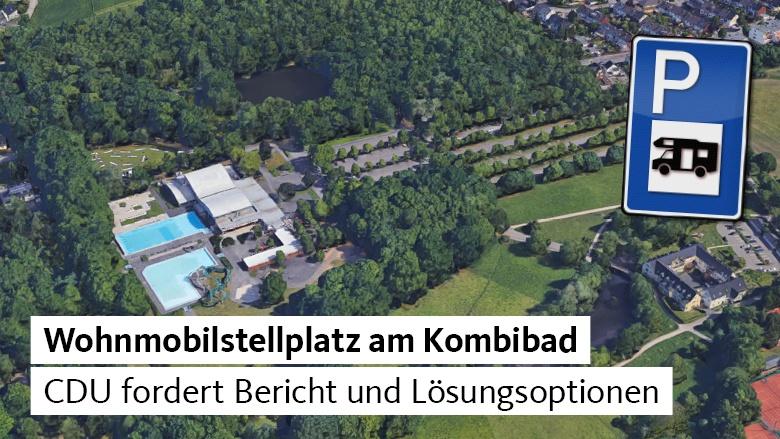 CDU fordert Bericht zum Wohnmobilstellplatz