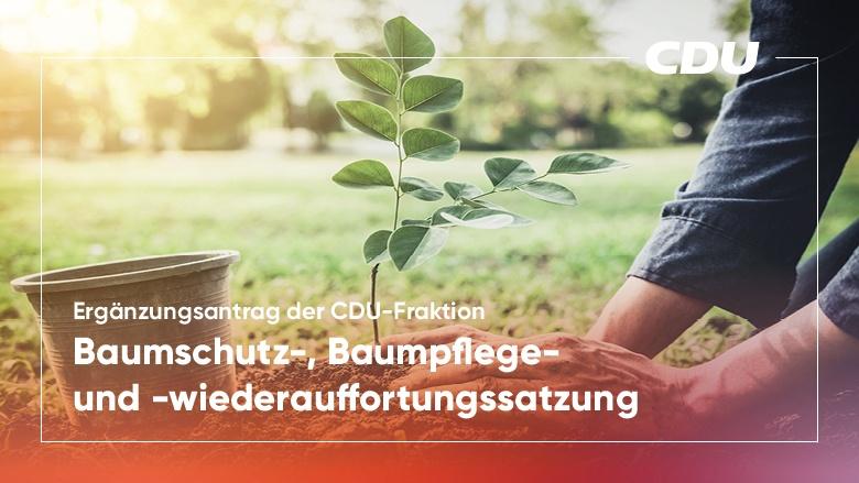 Ergänzungsantrag der CDU-Fraktion