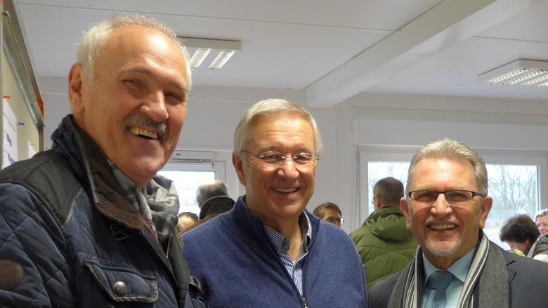 Jo Schlösser, Karlheinz Kockmann und Josef Willnecker aus Paffrath