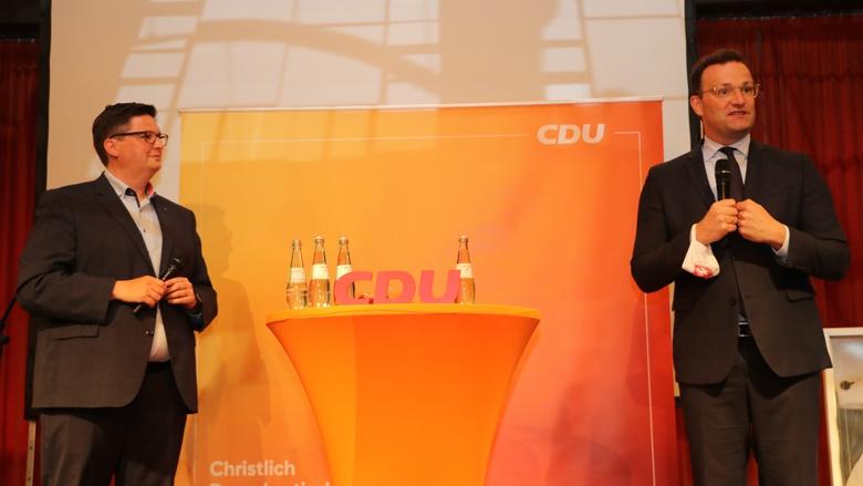 Christian Buchen und Jens Spahn