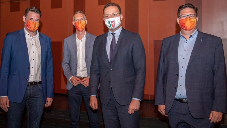 Uwe Pakendorf, Thomas Hartmann, Jens Spahn, Christian Buchen