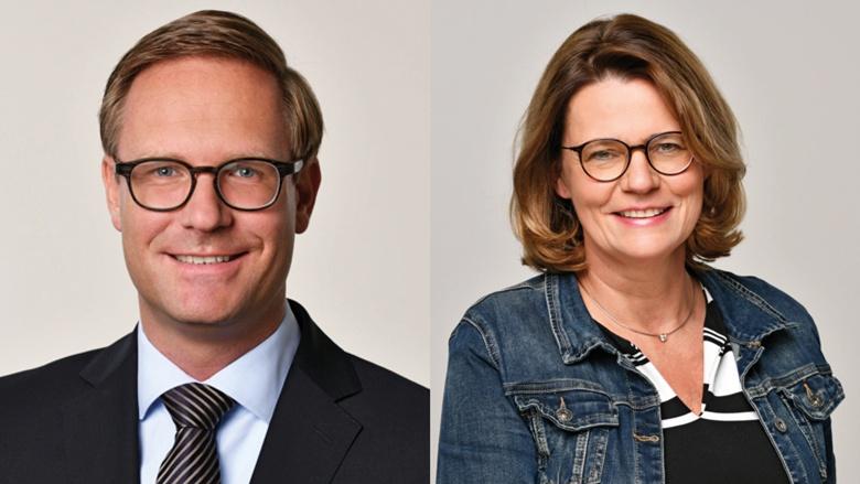 Dr. Michael Metten und Birgit Bischoff