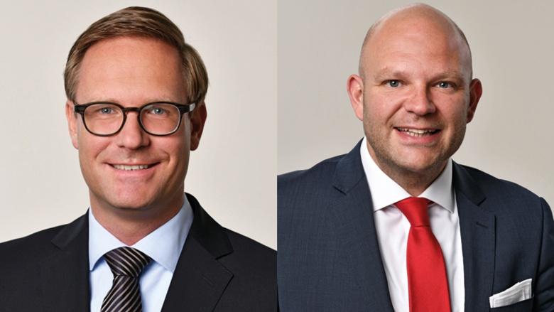 Dr. Michael Metten und Matthias Butz