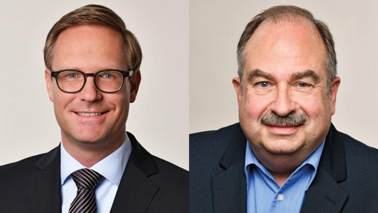 Dr. Michael Metten und Hermann-Josef Wagner