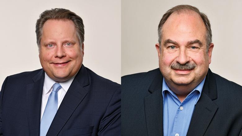 Lutz Schade und Hermann-Josef Wagner