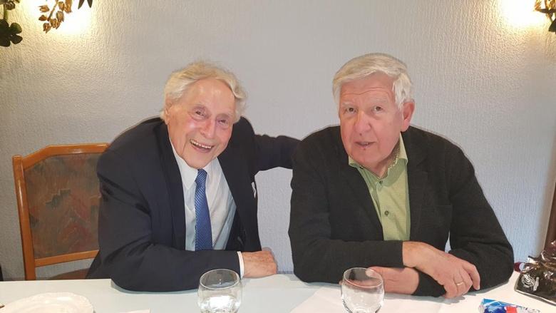 Ludwig Sebus und Manfred Klein