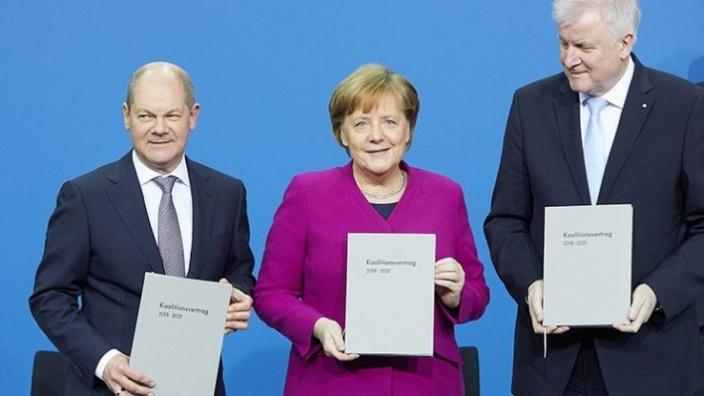 Koalitionsvertrag der neuen Bundesregierung