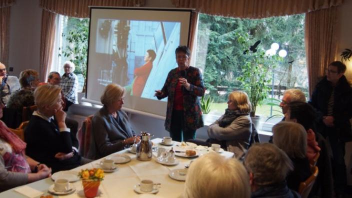 Ehemalige Dombaumeisterin besucht die Senioren-Union