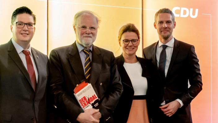 Christian Buchen, Manfred Lütz, Birgit Bischoff und Thomas Hartmann