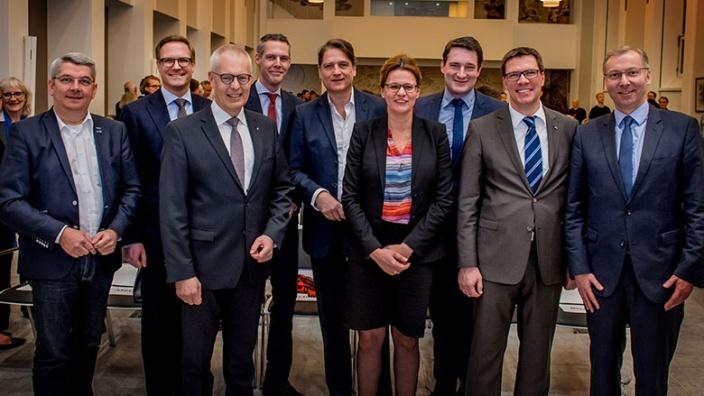 Viele CDU-Politiker begrüßten Jakob Augstein