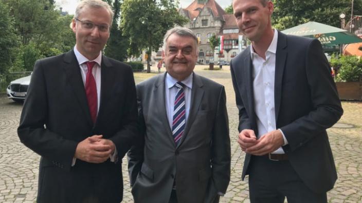 Spannende Diskussionen mit Herbert Reul bei der CDU Mitgliederversammlung