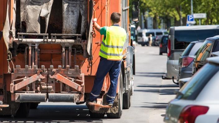 Fahrzeuge des Abfallwirtschaftsbetriebs
