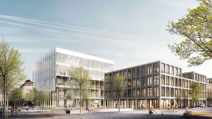 Der Siegerentwurf des Architekturbüros Auer Weber aus Stuttgart