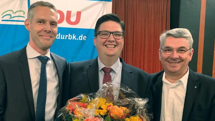 Thomas Hartmann, Christian Buchen und Lutz Urbach