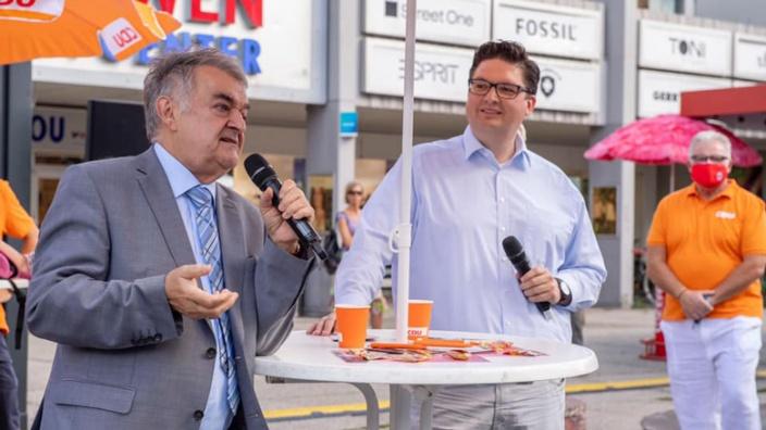 Herbert Reul mit Christian Buchen