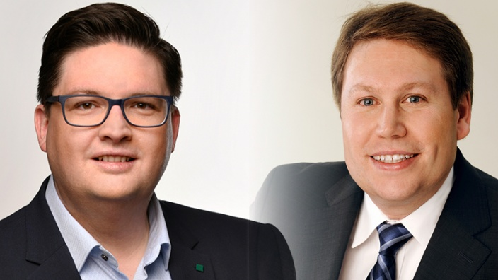 Christian Buchen und Harald Henkel