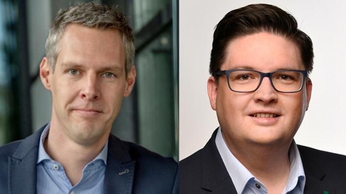 Thomas Hartmann und Christian Buchen