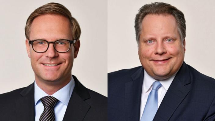 Dr. Michael Metten und Lutz Schade