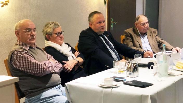 Josef Hovenjürgen bei der Senioren-Union