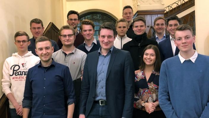 Neuer JU-Vorstand Bergisch Gladbach 2020