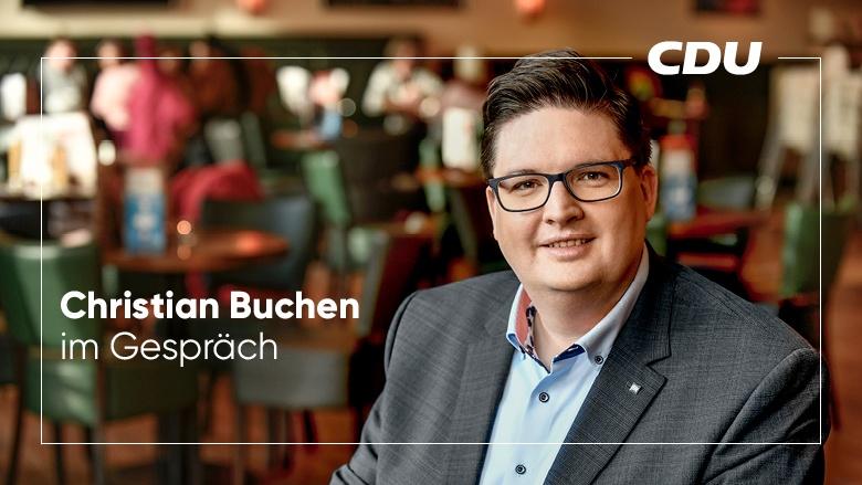 Christian Buchen im Gespräch