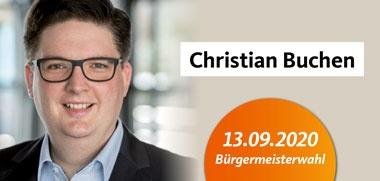 Bürgermeisterkandidat Christian Buchen