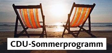 CDU-Sommerprogramm